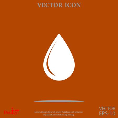 drop vector icon
