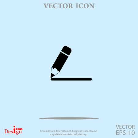 note pad: notes vector icon Illustration