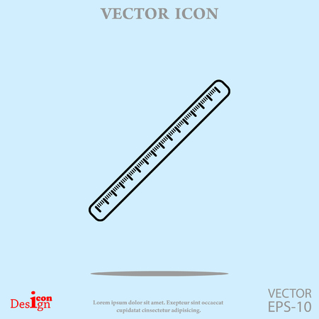 centimeter vector icon