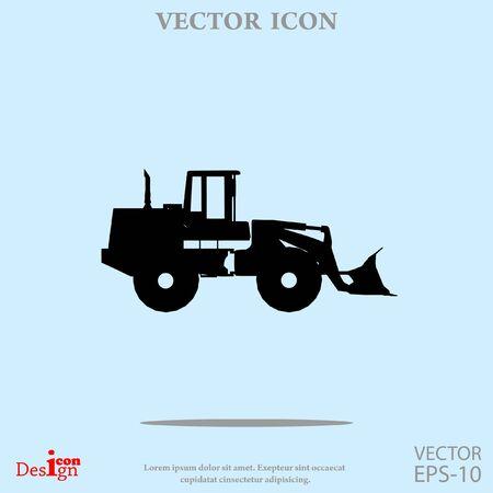 traktor vector icon