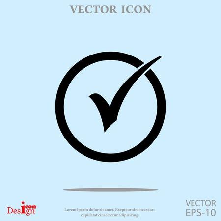 check box vector icon