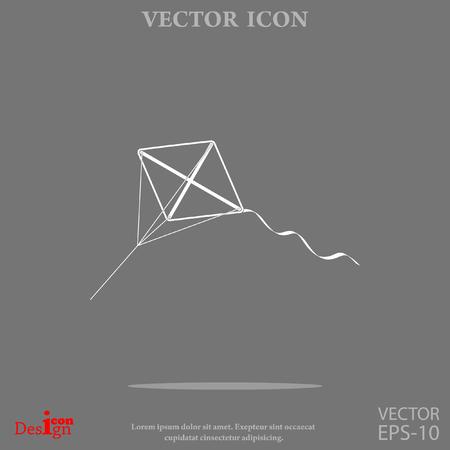 kite vector icon