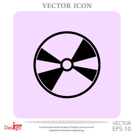 dvd: DVD disc vector icon