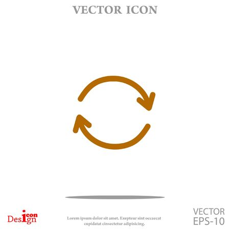 Cyclic vector icon