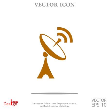 Antenna vector icon