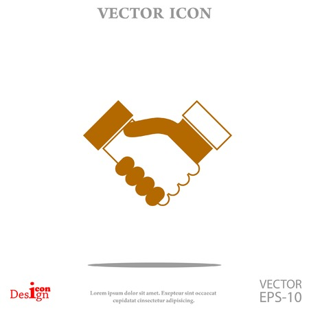 heandshake vector icon