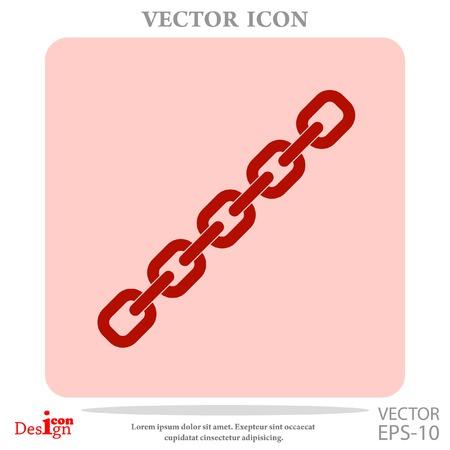solid figure: icone vettoriali catena Vettoriali