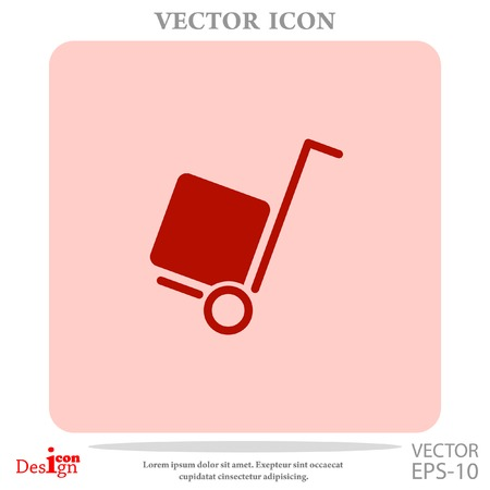 delivery vector icon