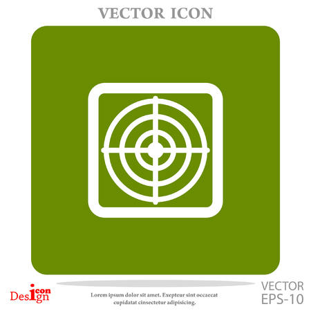 targets: target vector icon