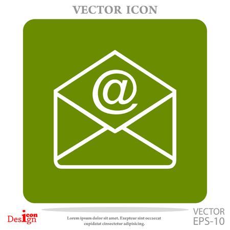 envelope: address vector icon