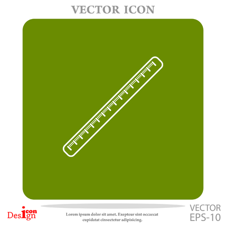 millimeters: centimeter vector icon