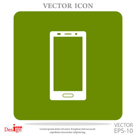 lcd: smartphone vector icon