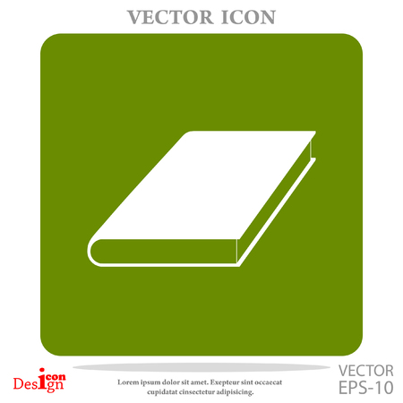 open magazine: book vector icon