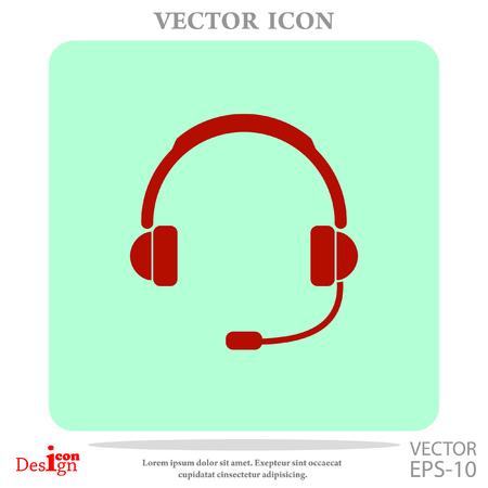 computer operator: support vector icon Illustration