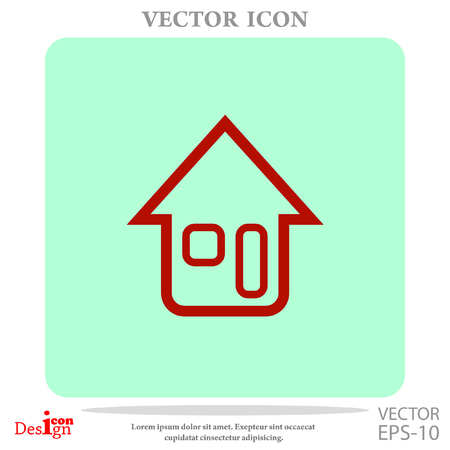 real state: home vector icon