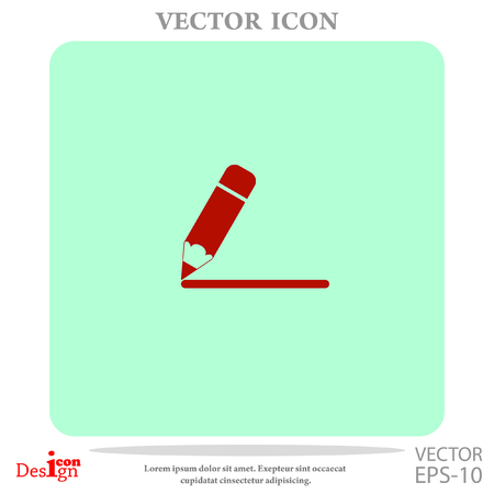 open notebook: notes vector icon Illustration