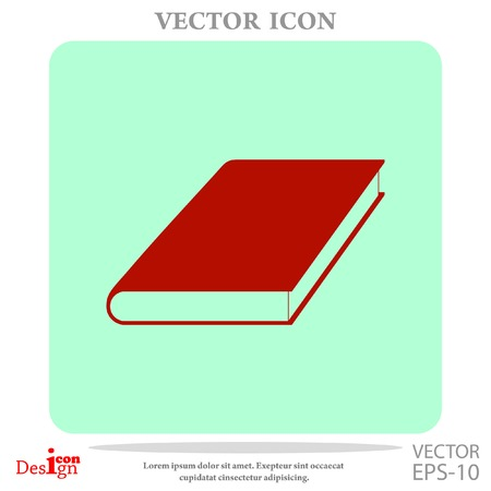 open notebook: book vector icon