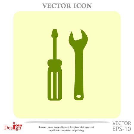 tools vector icon Illustration