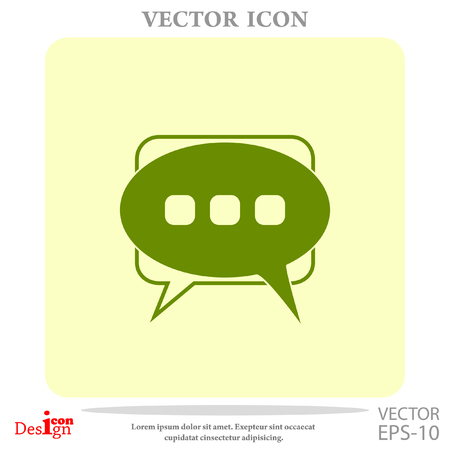 messages vector icon