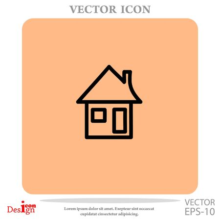 residences: House vector icon