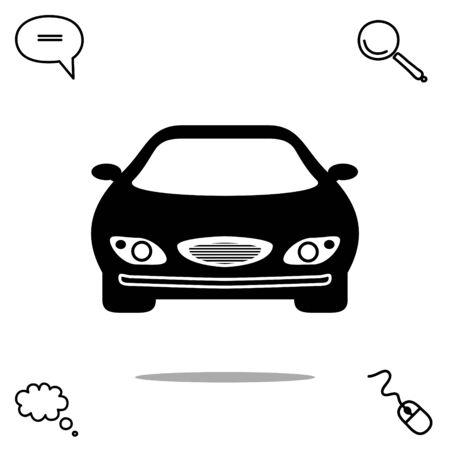 isolate: car vector icon