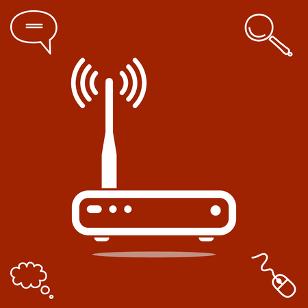 router vector icon