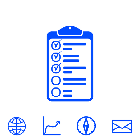 evaluate: clipboard vector icon