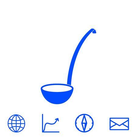 ladle vector icon