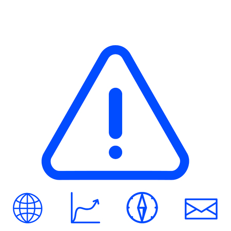 dangerous construction: warning vector icon