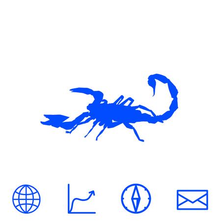 scorpion vector icon
