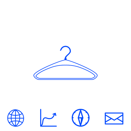 hangers: hatrack vector icon