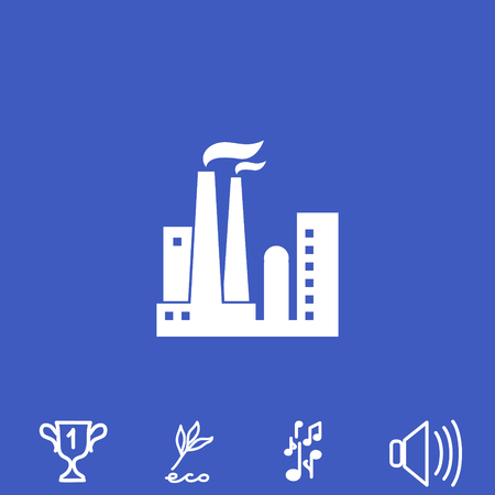 Plant vector icon.