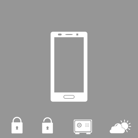 touch screen phone: smartphone vector icon