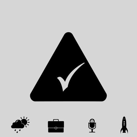 checklist: select vector icon