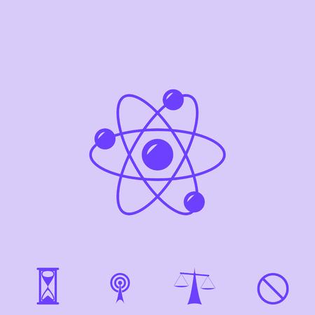 atom vector icon