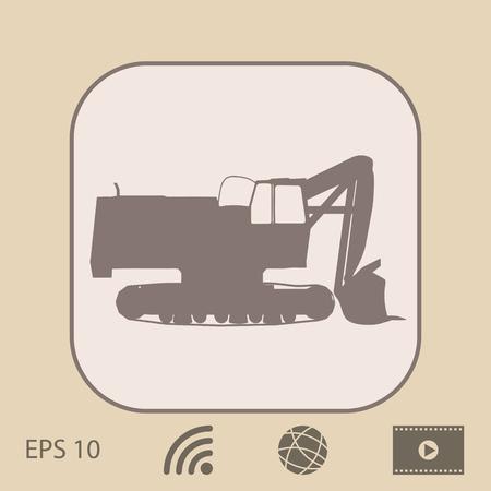 heavy: Excavator icon