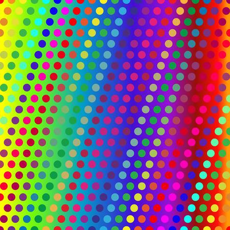 Dot Texture. Color Illustration.