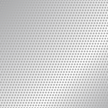 Carbon Fiber Texture. Black and White Halftone Vector Background. Abstract Technology Vector Template. Vettoriali