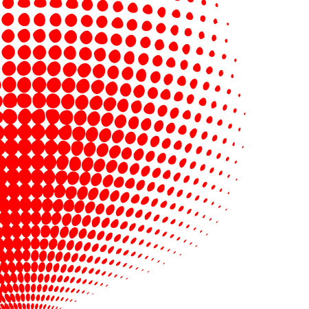 Grunge halftone background. Vector dots texture. Abstract dotted background