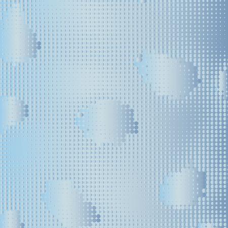 Vector Dot Texture. Color Illustration.