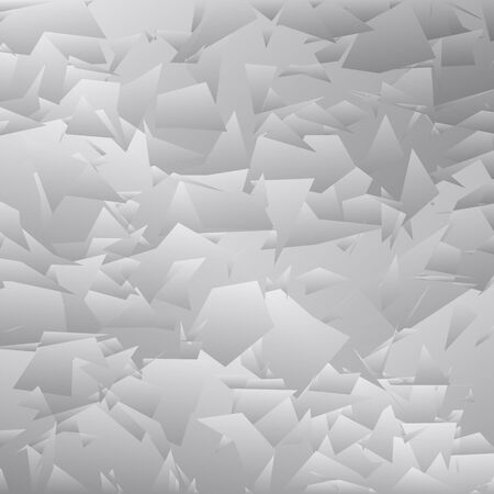 Black and white halftone pattern illustration. Illustration