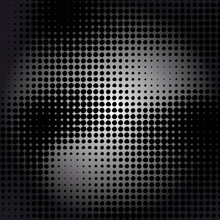 Grunge dotted texture halftone background.