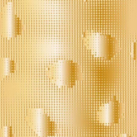 Yellow dot texture pattern illustration. Illustration
