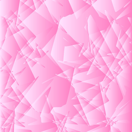Pink colored geometric abstract pattern illustration. Illustration