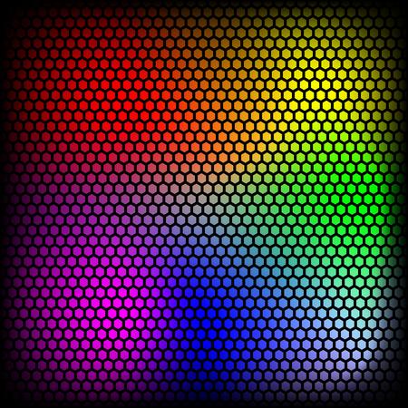 Vector dot texture, color illustration.