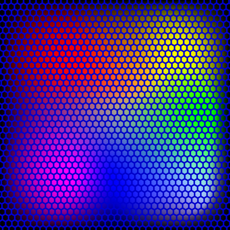Colorful dot abstract pattern.