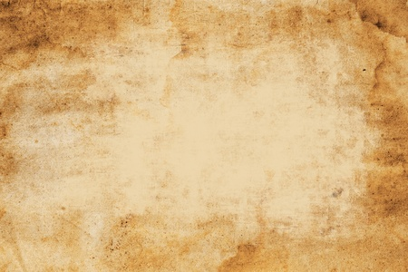 wrinkled paper: old paper background with space for text