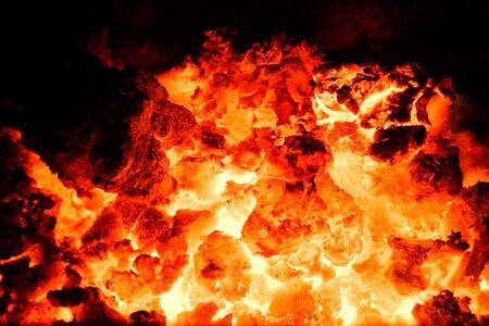 volcano ember photo