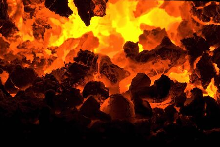burning embers Stock Photo - 6329512