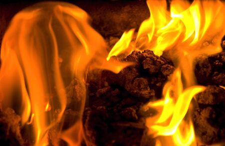 burning embers 2 Stock Photo - 6329514